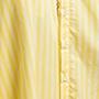 robe chemise rayée jaune