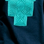 sweat turquoise bleu