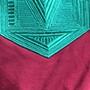 hiv 2020 sweat bordeau turquoise